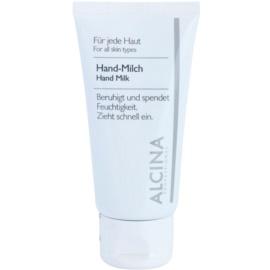 Alcina For All Skin Types Lapte pentru maini impotriva uscarii pielii  50 ml