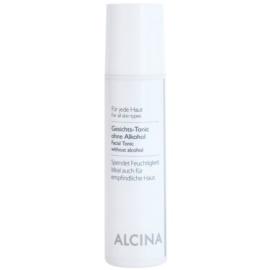 Alcina For All Skin Types tónico facial sem álcool  200 ml