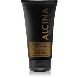 Alcina Color Conditioning Shot Brown tönendes Balsam für eine leuchtendere Haarfarbe Farbton Cold Brown 150 ml