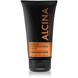 Alcina Color Conditioning Shot Copper Bálsamo de tonificação para enfatização de cor de cabelo  tom Bright Copper 150 ml