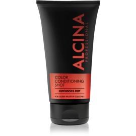 Alcina Color Conditioning Shot Red baume teinté pour souligner la couleur de cheveux teinte Intensive Red 150 ml