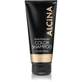 Alcina Color Gold shampoing pour teintes blondes chaudes  200 ml