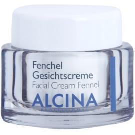 Alcina For Dry Skin Fennel Creme zur Erneuerung der Hautoberfläche  50 ml