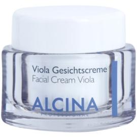Alcina For Dry Skin Viola Gesichtscreme  zur Beruhigung der Haut 50 ml