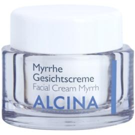 Alcina For Dry Skin Myrrh Gezichtscrème  met Anti-Rimpel Werking   50 ml