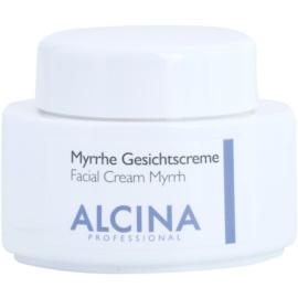 Alcina For Dry Skin Myrrh Gezichtscrème  met Anti-Rimpel Werking   100 ml