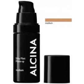 Alcina Decorative Silky Matt make-up púderes hatással árnyalat Medium 30 ml