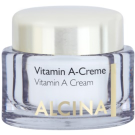 Alcina Effective Care Anti-Wrinkle Cream with Vitamin A  50 ml