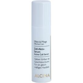 Alcina Effective Care Active Serum voor het gladstrijken van Gezichtscountouren  30 ml