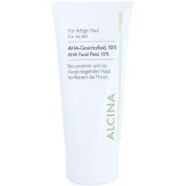 Alcina For Oily Skin arc fluid AHA savakkal 10 %  50 ml