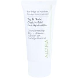 Alcina For Oily Skin Tages- und Nachtfluid für die Regulierung von Seborrhö  50 ml
