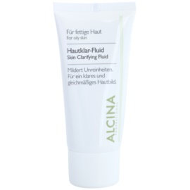 Alcina For Oily Skin fluide d'herbes pour une peau lumineuse  50 ml