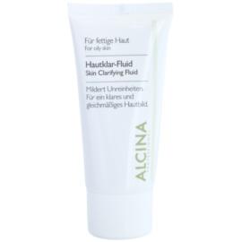Alcina For Oily Skin Kräuterfluid zur Verjüngung der Gesichtshaut  50 ml