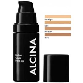 Alcina Decorative Perfect Cover Foundation  voor Egalisatie van Huidtint  Tint  Light 30 ml