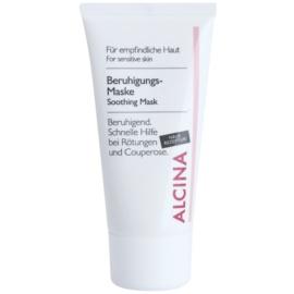 Alcina For Sensitive Skin mascarilla calmante con efecto instantáneo  50 ml