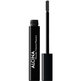 Alcina Decorative Wonder Volume Mascara für mehr Volumen Farbton 010 Black 8 ml