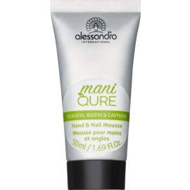 Alessandro Maniqure espuma para manos y uñas cuidado especial  50 ml