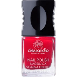 Alessandro Nail Polish Nagellack Farbton 127 Secret Red 10 ml