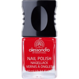 Alessandro Nail Polish Nagellack Farbton 907 Ruby Red 10 ml