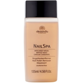 Alessandro NailSpa Nail Polish Remover Without Acetone  135 ml