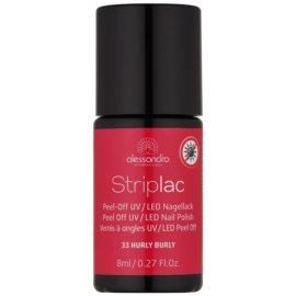 Alessandro Striplac Peel-Off UV/LED-Lack für die Fingernägel Farbton 33 Hurly Burly 8 ml