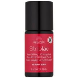 Alessandro Striplac vernis à ongles UV/LED peel-off teinte 33 Hurly Burly 8 ml