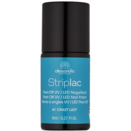Alessandro Striplac vernis à ongles UV/LED peel-off teinte 61 Crazy Lazy 8 ml