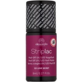 Alessandro Striplac Peel-Off UV/LED Nagellak  Tint  151 I Love Secret 8 ml