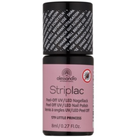 Alessandro Striplac Peel-Off UV/LED Nail Varnish Shade 179 Little Princess 8 ml