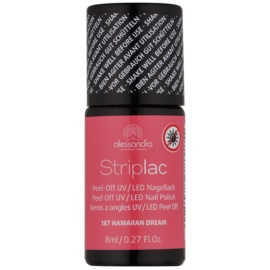 Alessandro Striplac Peel-Off UV/LED Nail Varnish Shade 187 Hawaiian Dream 8 ml