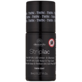Alessandro Striplac Peel-Off UV/LED Base and Top Coat   8 ml
