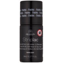 Alessandro Striplac Peel-Off UV/LED Basis - und Decklack für die Fingernägel  8 ml