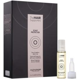 Alfaparf Milano The Hair Supporters Scalp Protector sérum protecteur avant-coloration pour cuir chevelu sensible  12x13 ml