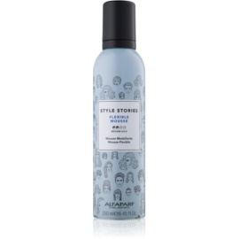Alfaparf Milano Style Stories The Range Pre-Styling Schaumfestiger mittlere Fixierung Flexible Mousse 250 ml