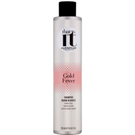 Alfaparf Milano That s it Gold Fever shampoing pour teintes blondes chaudes  250 ml