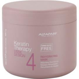 Alfaparf Milano Lisse Design Keratin Therapy rehydrierende Maske für alle Haartypen  500 ml