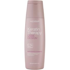 Alfaparf Milano Lisse Design Keratin Therapy jemný čisticí šampon bez sulfátů a parabenů  250 ml