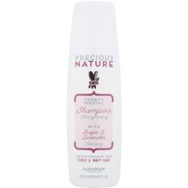 Alfaparf Milano Precious Nature Grape & Lavender szampon do włosów kręconych i falowanych  250 ml