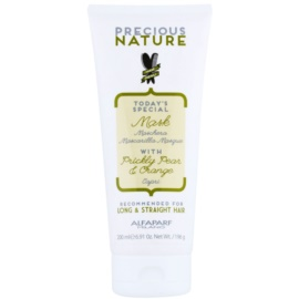 Alfaparf Milano Precious Nature Prickly Pear & Orange masque lissant anti-frisottis  200 ml