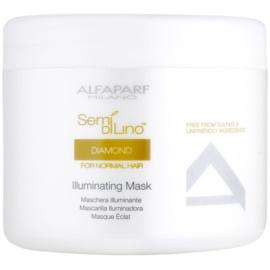 Alfaparf Milano Semi di Lino Diamond Illuminating masca pentru stralucire  500 ml