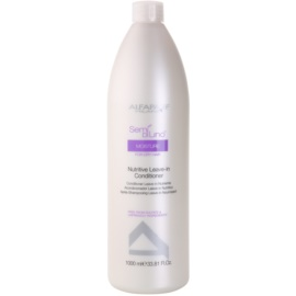 Alfaparf Milano Semi di Lino Moisture acondicionador nutritivo sin aclarado para cabello seco  1000 ml