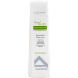 Alfaparf Milano Semi di Lino Reconstruction regenerační šampon pro poškozené vlasy  250 ml