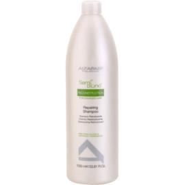 Alfaparf Milano Semi di Lino Reconstruction regenerační šampon pro poškozené vlasy  1000 ml