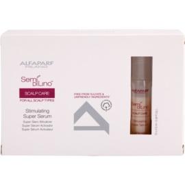 Alfaparf Milano Semí Dí Líno Scalp Care stimulující sérum pro posílení vlasů  12 x 10 ml