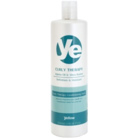 Alfaparf Milano Yellow Curly Therapy après-shampoing hydratant pour cheveux bouclés  500 ml