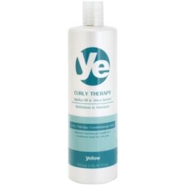 Alfaparf Milano Yellow Curly Therapy feuchtigkeitsspendender Conditioner für welliges Haar  500 ml