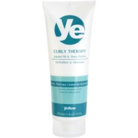 Alfaparf Milano Yellow Curly Therapy bezoplachová hydratační péče pro vlnité vlasy  250 ml