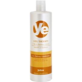 Alfaparf Milano Yellow Liss Therapy acondicionador alisador para cabello químicamente tratado  500 ml