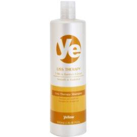 Alfaparf Milano Yellow Liss Therapy uhlazující šampon pro chemicky ošetřené vlasy  500 ml