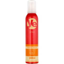 Alfaparf Milano Yellow Style mousse coiffante fixation et forme  250 ml